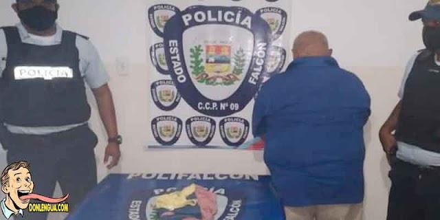 Anciano detenido en Falcón cuando le hacía cochinaditas a su nieta de 9 años