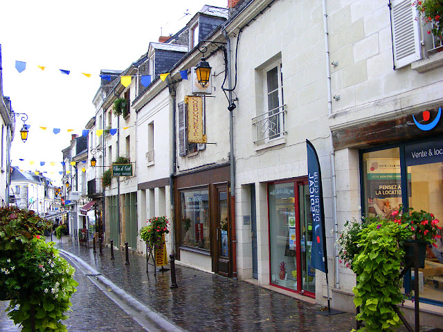 Rue Balzac, Loches, Indre et Loire, France. Photo by Loire Valley Time Travel.