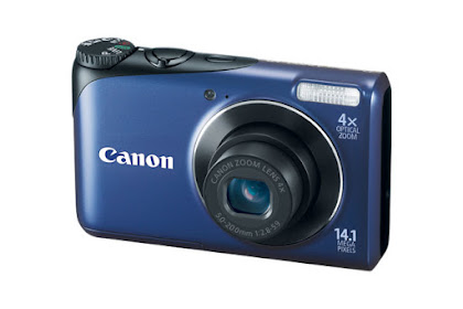 Canon PowerShot A2200 Blue Driver Download Windows, Mac