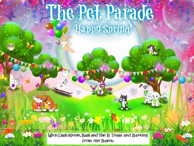 Spring Pet Parade Banner 2020