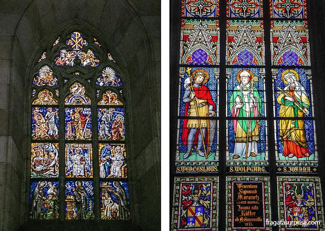 Vitrais da Catedral de São Vito, Castelo de Praga
