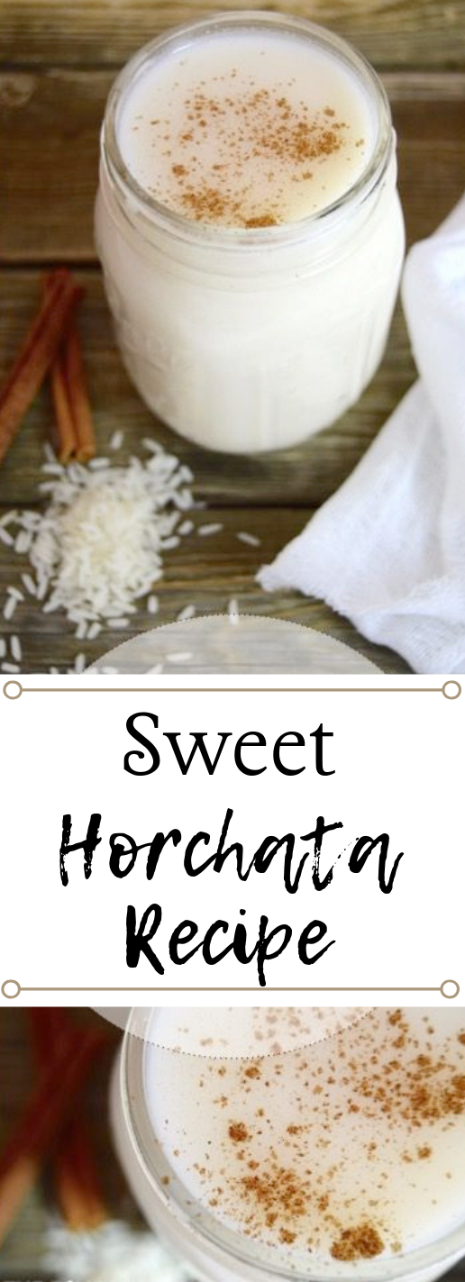 SWEET MEXICAN HORCHATA #party #healthydrink #fres #horchata #yummy