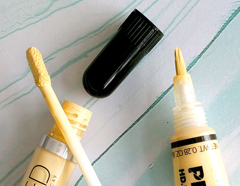 Urban Decay Color Correcting Fluid and L.A. Girl HD Pro Conceal in yellow review