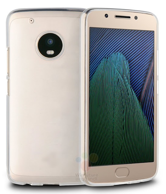 Moto G5 Plus renders showcased by Case Maker