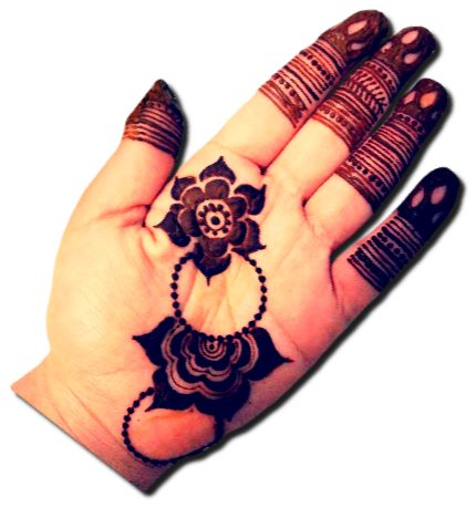 Unique Mehndi Designs for Front Hand