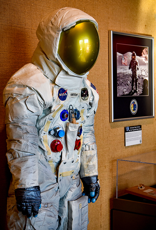 Neil Armstrong Spacesuit - Photo: Travis Swann Taylor