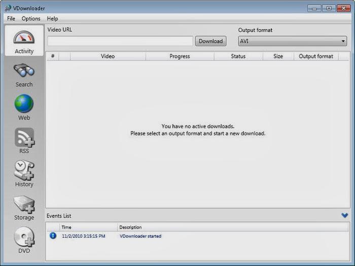 vdownloader verso 2011