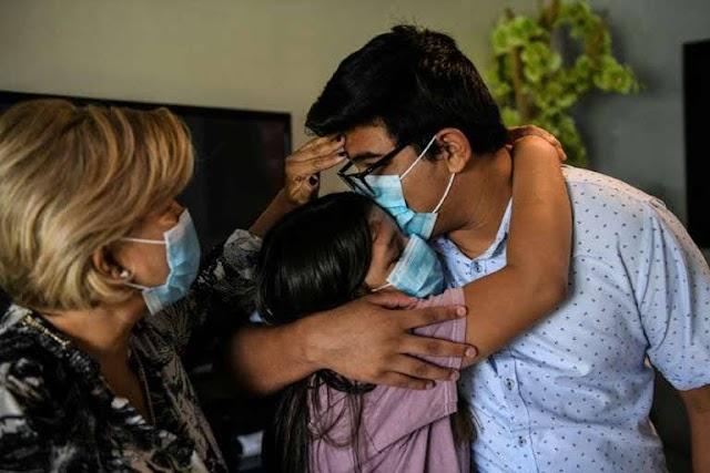 Família de luto pelo vírus não sabe como pagar o hospital