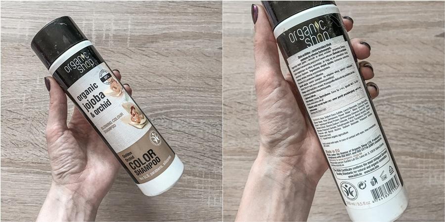 Organic Shop Organic Jojoba & Orchid color shampoo