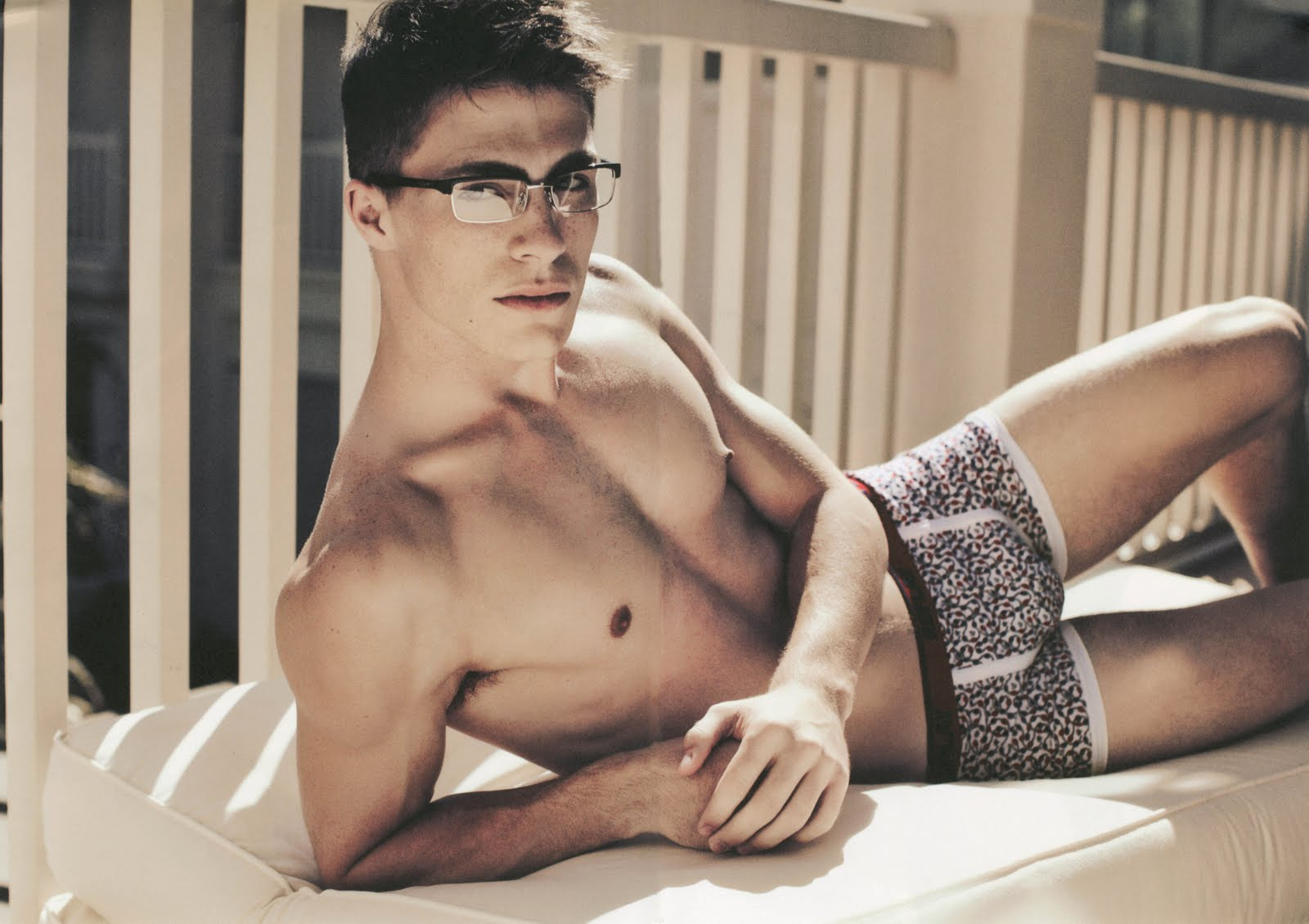 Teen Wolf Stud Colton Haynes In His Underwear
