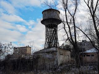 Часів Яр. Водогінна вежа інженера Шухова