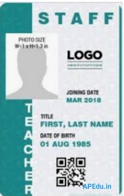 Identity Cards for Teachers