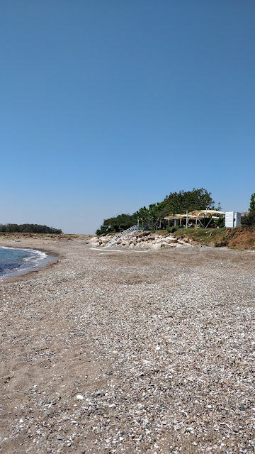 Time Beach, Paphos airport road, Cyprus, Bonamare beach bar