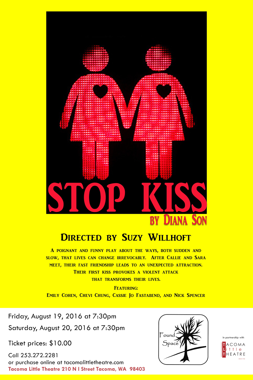 stop kiss Wellesley college upstage presents: stop kiss written by diana son directed by lillian odekirk '18 stage managed by padya paramita '18 production management:.