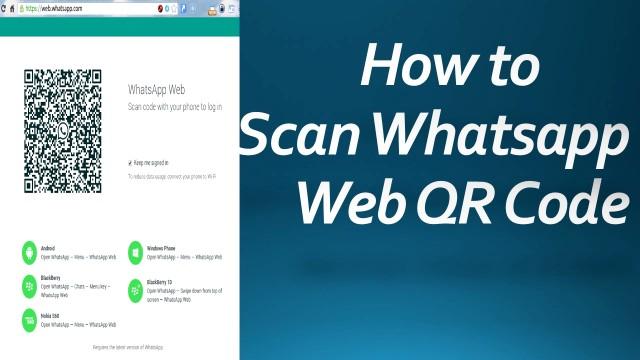 Whatsapp Web Scan Qr Code