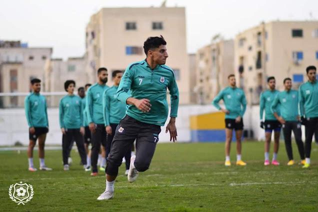 الإسماعيلي يختتم تدريباته استعداداً لمواجهة المقاولون العرب