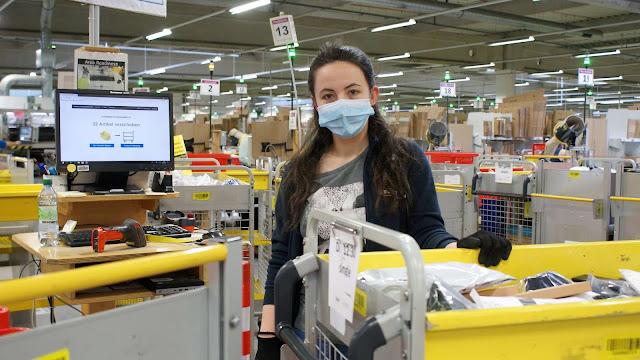 فرص عمل لدى شركة امازون في المانيا  برواتب مغرية