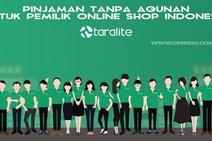 Taralite - Pinjaman Tanpa Agunan untuk Merchant Online Indonesia