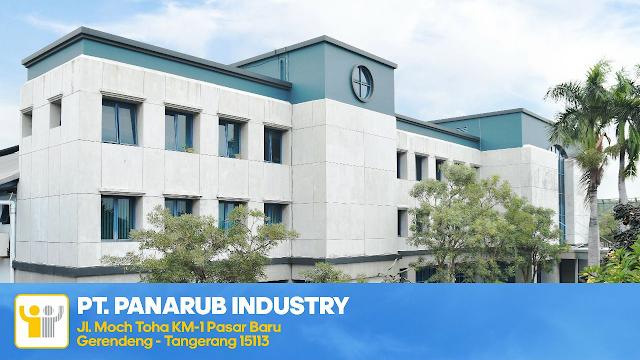 Lowongan Kerja Operator PT Panarub Industry Tangerang