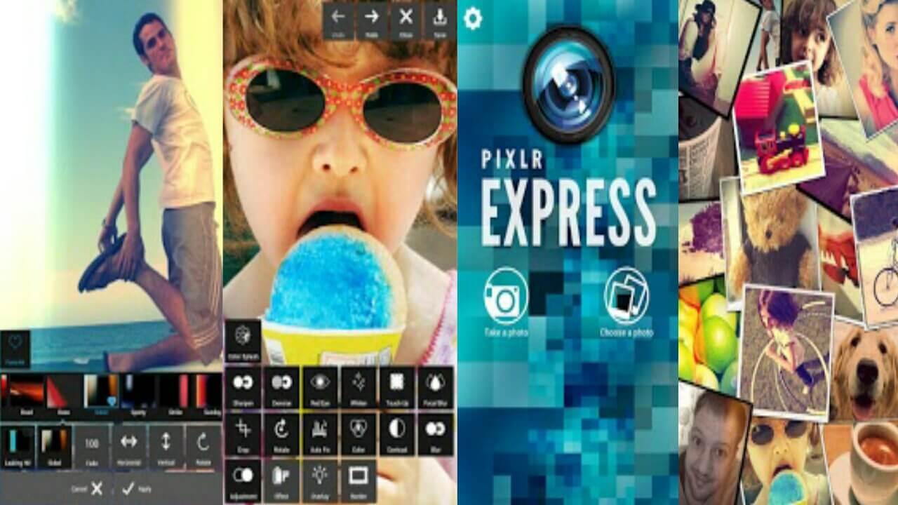 تطبيق Pixlr Express