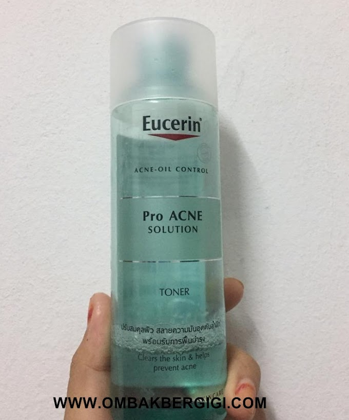 Eucerin Pro Acne Solution Toner Review