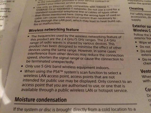 PS4 Slim soporta los 5 GHz de Wi-fi
