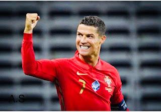 رونالدو يسجل الهدف رقم 100 للبرتغال ويقترب من رقم فريد