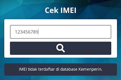 IMEI tidak terdaftar Kemenperin ? Berikut Solusinya