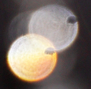 strange holes in orbs