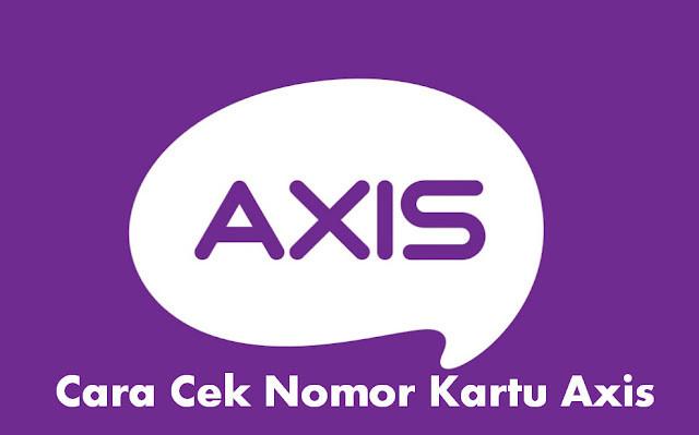 cara cek nomor kartu Axis