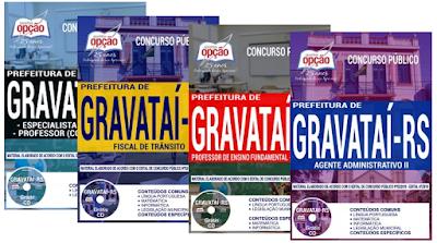 Apostilas para concursos Município de Gravataí 2018