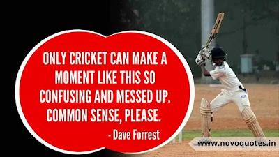 Short Cricket Quotes