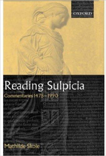 Bilde av Skoies bok «Reading Sulpicia», hentet fra Amazon.