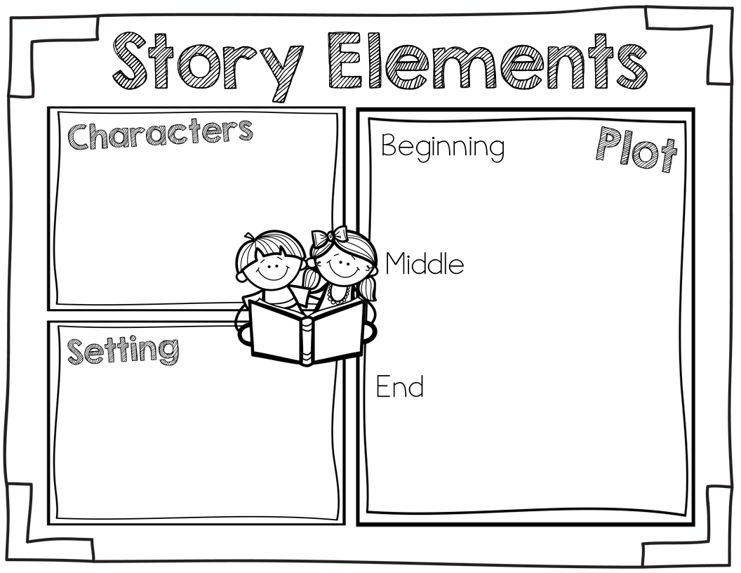 Ginger Snaps Story Elements Freebie
