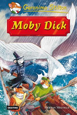 LIBRO - Moby Dick : Geronimo Stilton  (Destino - 17 mayo 2016)  LITERATURA INFANTIL & JUVENIL  Edición papel & digital ebook kindle  Comprar en Amazon España