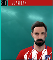 PES 6 Faces Juanfran by Dewatupai