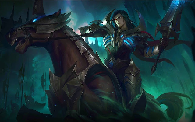 Leomord Hell Knight Heroes Fighter of Skins Mobile Legends Wallpaper HD for PC