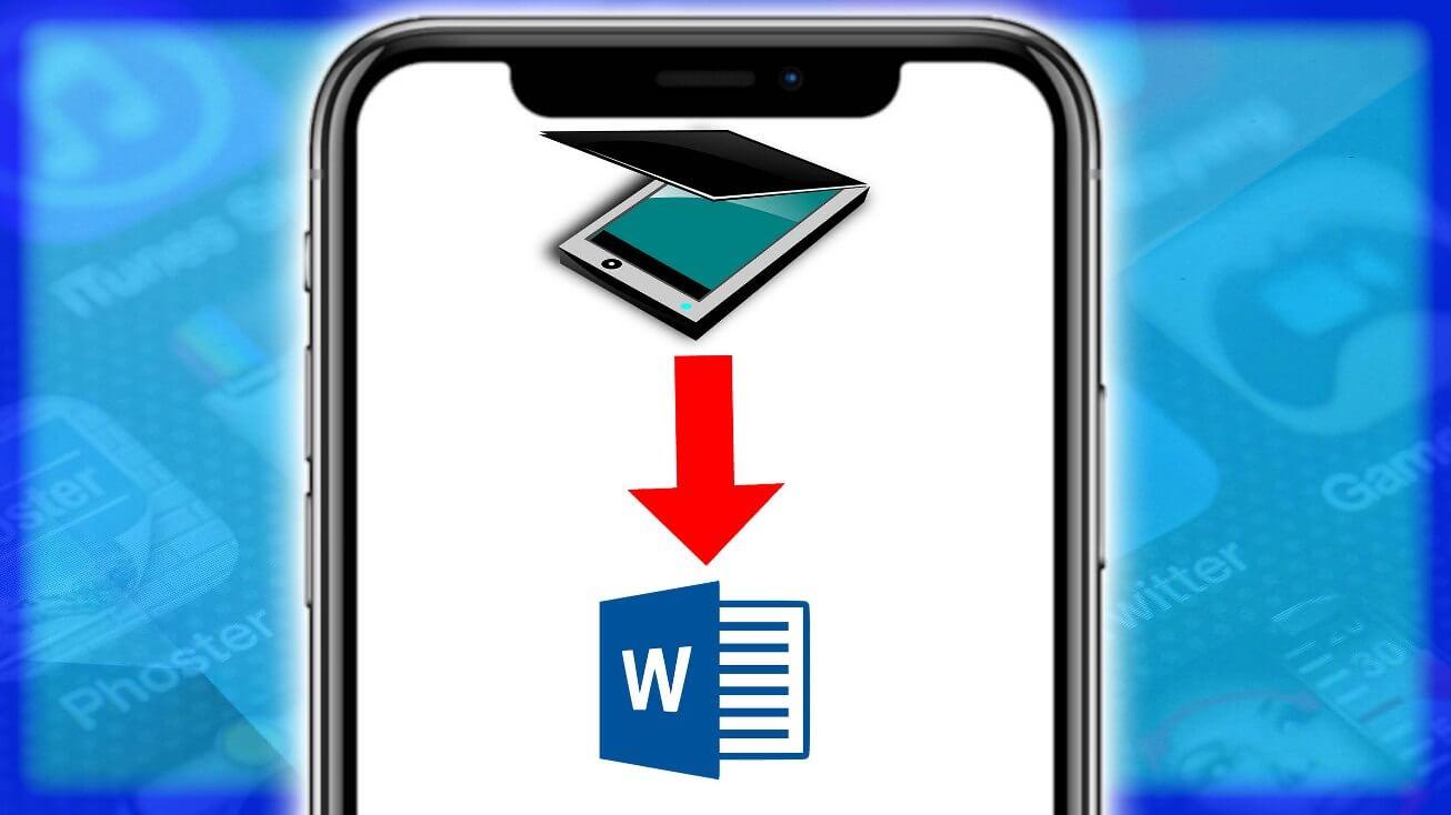 Cómo escanear un documento con el celular a word o pdf