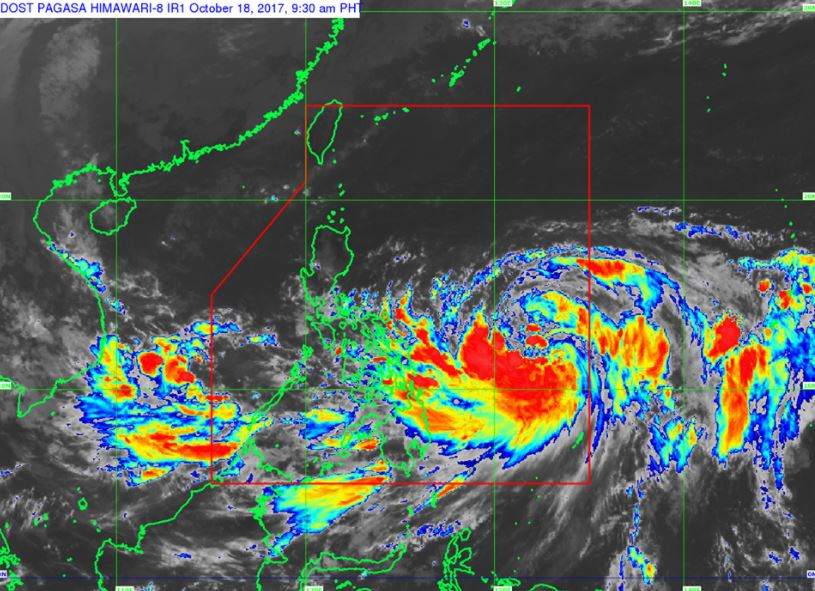 'Bagyong Paolo' PAGASA weather update October 18, 2017