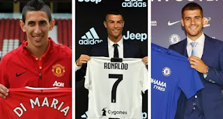 Real Madrid Jersey number 7 most expensive sales ever revealed