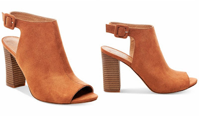 Madden Girl Beckkie Sling Back Peep Toe Booties $35 (reg $59)