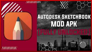 Autodesk SketchBook Pro MOD APK [FULLY UNLOCKED] Latest (V5.2.2)