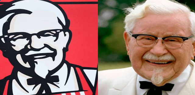 Colonel Sanders was the founder of which famous fast-food chain?
