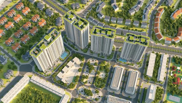Toàn cảnh quy mô dự án Gelexia Riverside