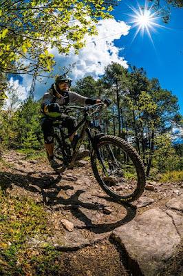 Gondelbahn Kohlern Auffahrt mit dem Mountainbike