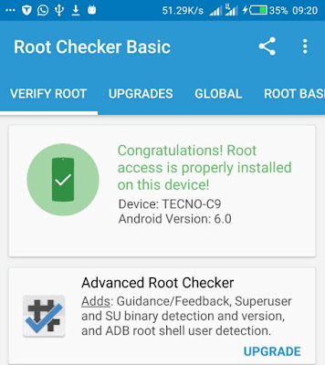 How To Root Tecno Camon C9