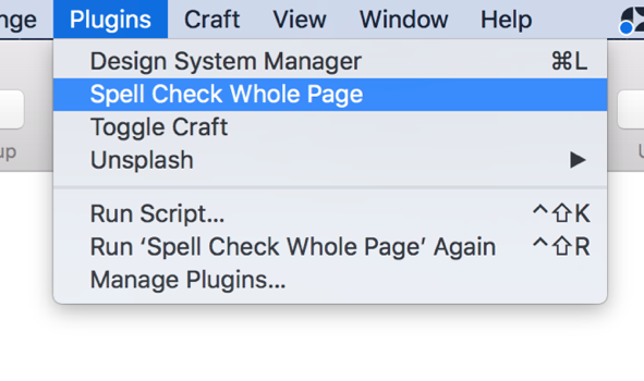 Spell Check Plugin for Sketch