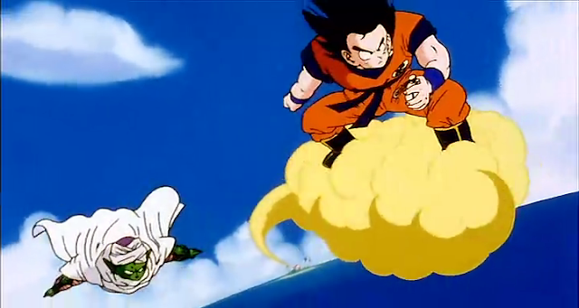 Goku nuvem voadora