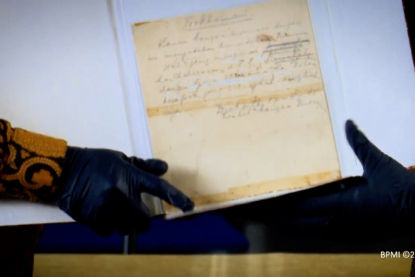 Naskah Asli Teks Proklamasi Akan Ditampilkan Pada Upacara Detik-detik Proklamasi di Istana Merdeka