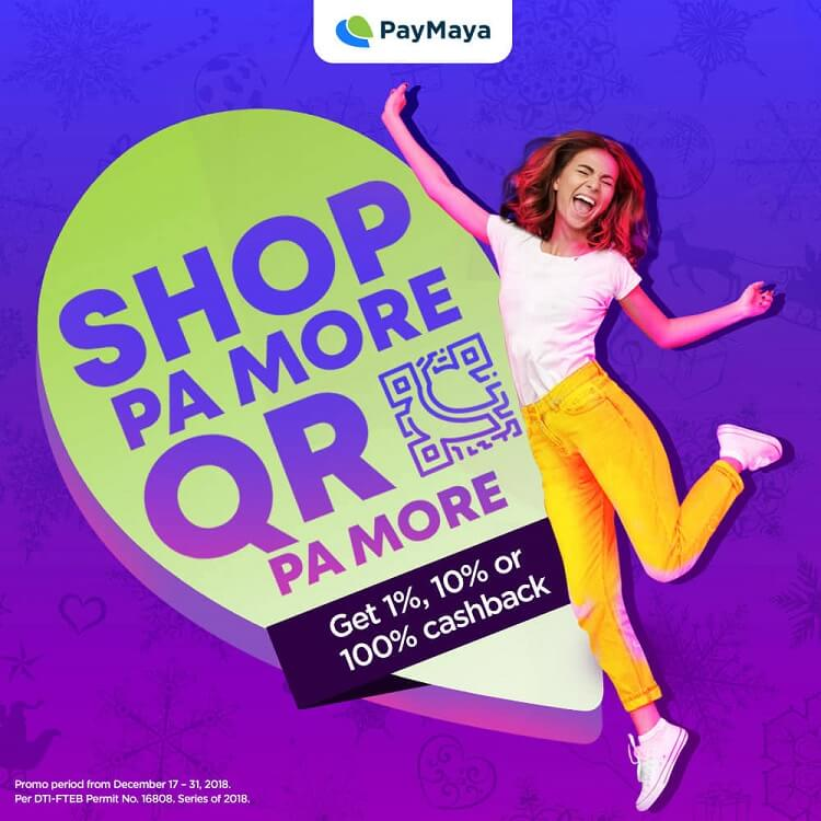 Get up to Php1,500 Cashback When You #ShopPaMore with PayMaya